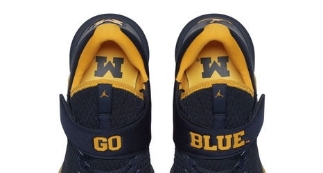 beb1e38cfe5 Wolverine Wednesday: Introduces The New Michigan Jordan Trainer 3
