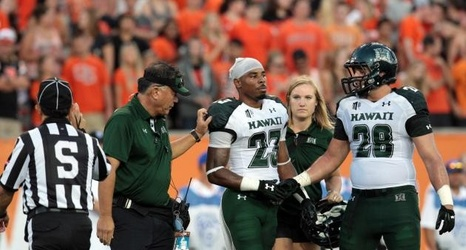 first rate 55433 2a16f Ohio State Shakes off Rust and Hawaii 38-0