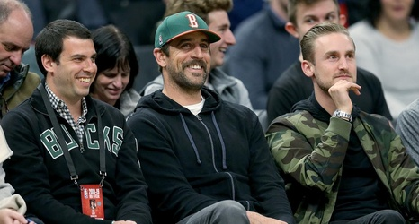 aaron rodgers throws shade at paul pierce after celtics game 4 loss rh chatsports com
