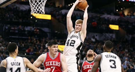 San Antonio vs  Philadelphia, Final Score: Spurs' strong
