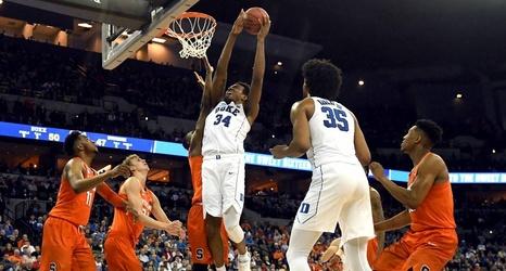 Duke S Wendell Carter Jr Thinks The Second Half Zone Defense Won