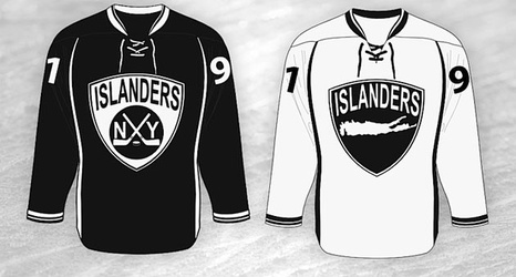 Islanders To Go With The Alternate Black And White Jerseys