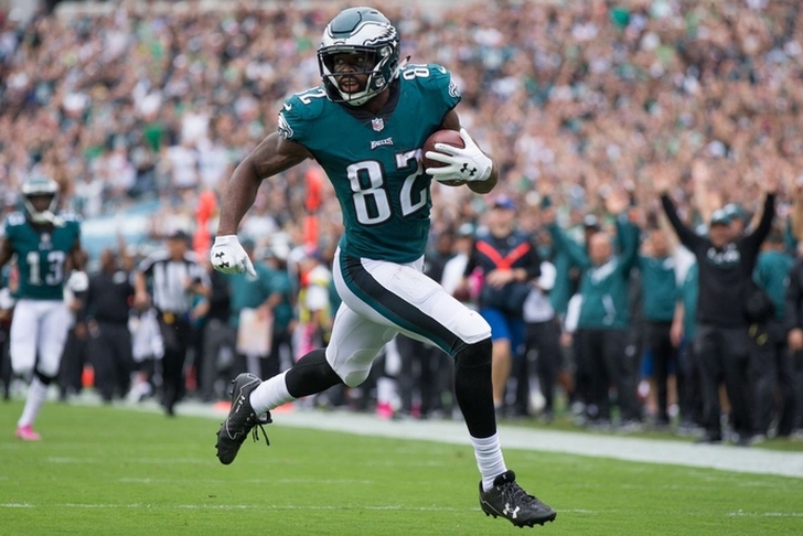 Eagles trade Torrey Smith to Panthers for CB Worley