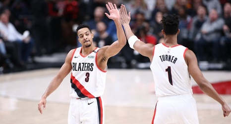 blazers dominate hornets from start to finish to extend win streak rh chatsports com