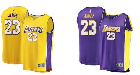 buy popular 77881 f5611 LeBron James to wear No. 23 with Los Angeles Lakers