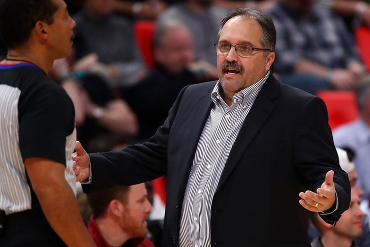 Pistons fire coach Stan Van Gundy, report says