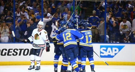 Blues Vs Blackhawks Game 7 Score And Twitter Reaction From 2016