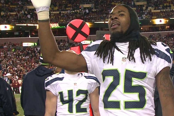 Seahawks' Sherman bids farewell to teammates
