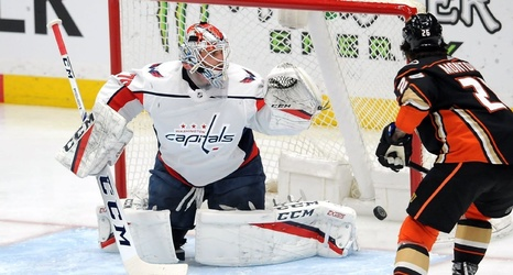 Capitals Goalie Braden Holtby Day To Day With Knee Injury