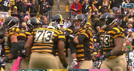 the best attitude bc99d 29730 Report: Steelers To Wear Throwback Uniforms During 2018 Season