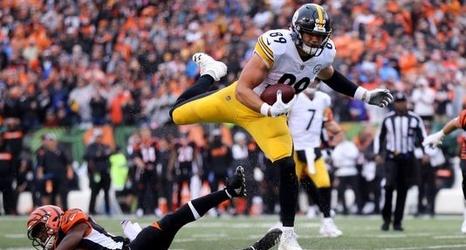 online store 27550 e5fbe Cincinnati Bengals at Pittsburgh Steelers: TV, odds, history ...