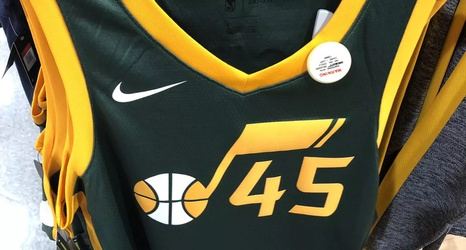 "quality design 343ae 67d9a Utah Jazz's ""Earned"" Nike Christmas Jerseys leaked"