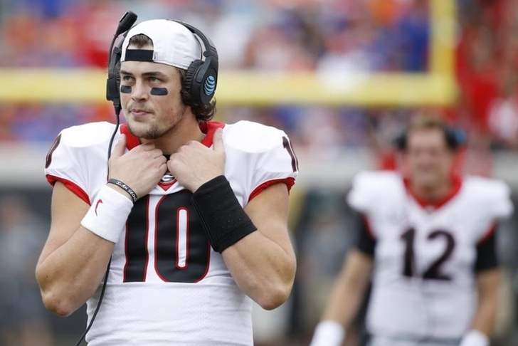 Georgia QB Jacob Eason reportedly transferring to Washington