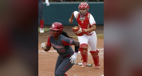 the latest 8a098 b523f OU softball: Sooners' streak snapped by Wisconsin in regional