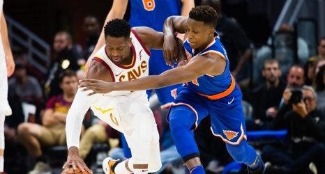 34f599c558b New York Knicks  Team Ball Embarrass LeBron James   Cavs
