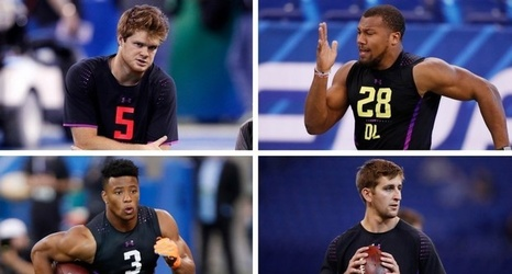 Nfl Draft 2018 Ranking The Top 100 Prospects Saquon