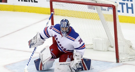 New York Rangers G Henrik Lundqvist Hilariously Mocks Mats