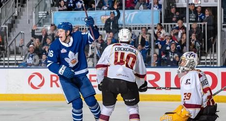 Egor Korshkov Scores In Ahl Debut Toronto Marlies Win Game 2