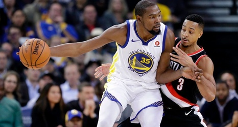 b7a73c20371f CJ McCollum calls Kevin Durant s Warriors decision  soft