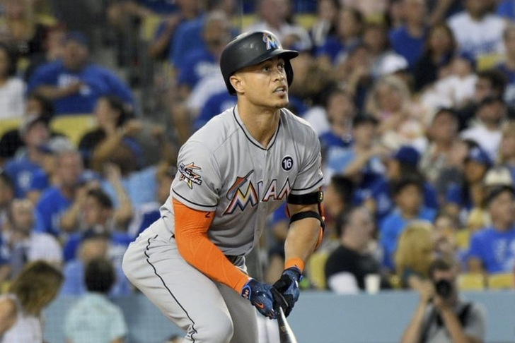 Cards, Giants have framework for Stanton deal