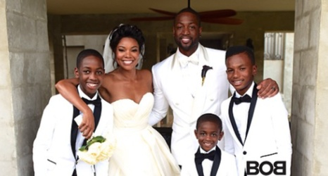 A look at the guest list from dwyane wade and gabrielle unions a look at the guest list from dwyane wade and gabrielle unions wedding junglespirit Images