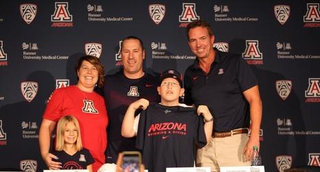 12-year-old newest member of Arizona swim team