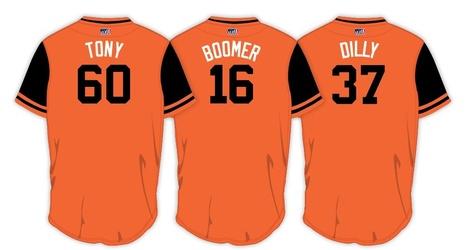 Orioles announce nicknames 73d060299b4