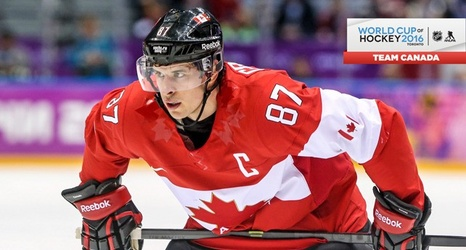 Sidney Crosby Named Team Canada S Captain For World Cup Of Hockey 2016