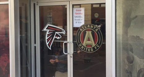 brand new f8ad6 42ba3 Official Atlanta United team store at Mercedes-Benz Stadium ...
