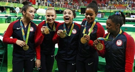 Gymnastics federation reduces Olympic team sizes to 4 from 5