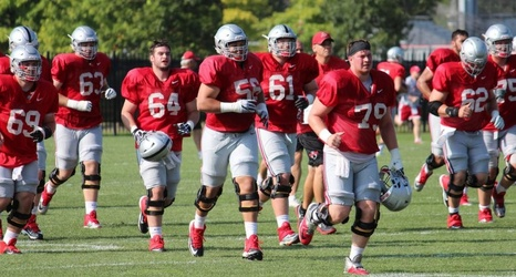 half off 965d8 566c1 2016 Season Preview  Ohio State Searching for Depth on Offensive Line Under  New Coach Greg Studrawa