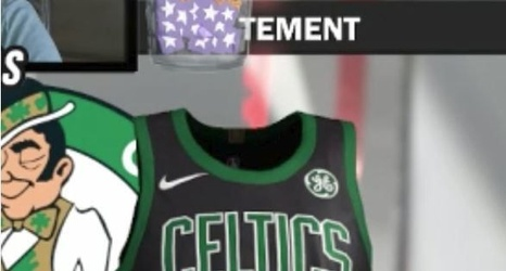 "50c4b39a5 Celtics new ""statement"" uniforms leaked via video game"