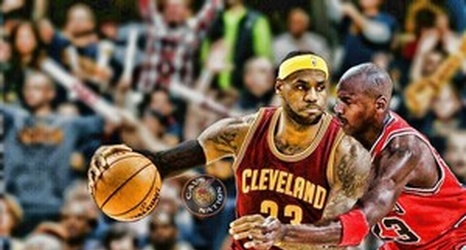super popular 3ed57 04382 LeBron James Snubbed from Mitchell and Ness' Jersey Mural?