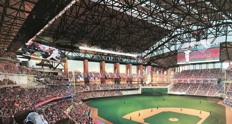 Here S The Latest Design For The New Texas Rangers