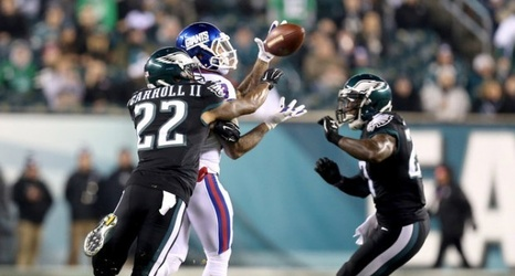 WATCH: Eagles' Malcolm Jenkins' pick-6 off Giants' Eli Manning