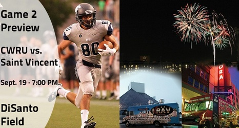 Football Fireworks And Food Trucks At Disanto Field On Saturday Night