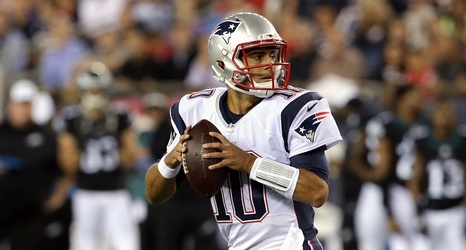 Patriots 23, Bears 22: Tom Brady out, Jimmy Garoppolo gets
