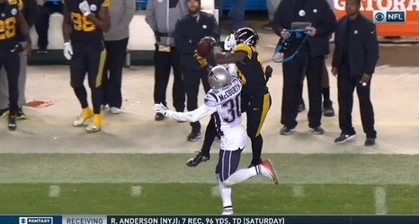 super popular 1e08f b8bed Steelers Rookie WR James Washington Has Breakout Game ...