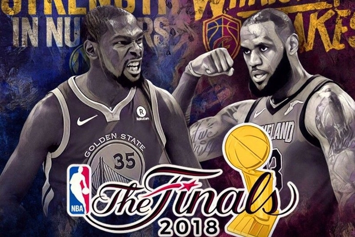 Image result for cavs vs. warriors nba finals 2018