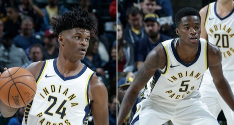 detailed look 1130f 3fbe8 Pacers Assign Alize Johnson and Edmond Sumner to Mad Ants