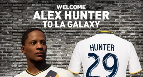 6272e43b6 Alex Hunter LA Galaxy jerseys are now on sale
