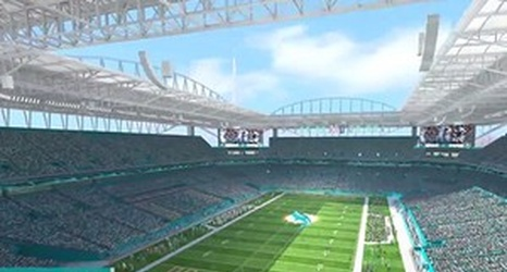 Video: Dolphins Release Animated Rendering Of What Sun Life Stadium Will  Look Like In 2016