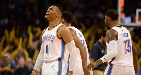 0b3c494fb It s why many saw the Oklahoma City Thunder as one of the few viable  challengers to the Warriors  cake walk to another title as ...