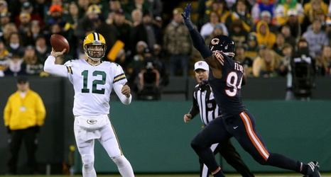 low priced b012b 698a6 Green Bay Packers to wear color rush uniform vs. Chicago Bears