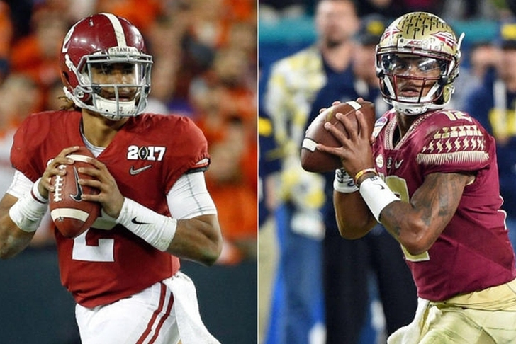 Lights, camera, action: No. 1 Bama, No. 3 FSU ready to roll