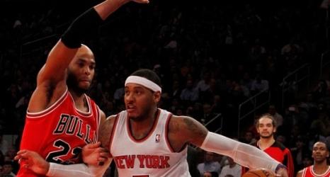 0d6831d47673 Report  Derrick Rose Didn t Help Chicago Bulls Recruit Carmelo Anthony