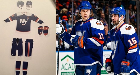 official photos b9739 dd0c4 New York Islanders new third jersey has leaked