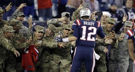 Jonathan Kraft proud of Patriots  salute for military members 0d262ba11