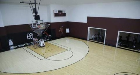 Michigan House Envy: Former Pistons\' mansion has indoor basketball ...