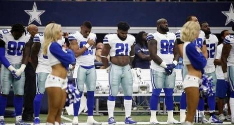 3fdfe40a9b9 NFL's new anthem policy won't impact Dak Prescott and always-standing  Cowboys | Fort Worth Star-Telegram